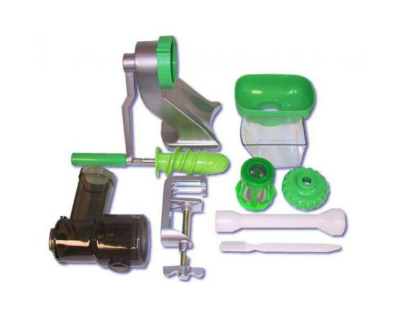 Tribest Z Star Manual Wheatgrass Juicer - Z-710 - Renewed Living Inc.
